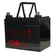 Аккумуляторная батарея CSB серии GP 12 В 34 А*ч фото