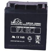 Аккумуляторные батареи LEOCH серии DJW 12В 24,0 А*ч фото