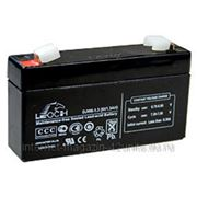 Аккумуляторные батареи LEOCH серии DJW 6В 1,3 А*ч фото