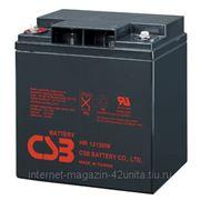 Аккумуляторная батарея CSB серии HR 12В 30 А*ч фото