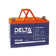 Аккумуляторная батарея Delta GX 90 А/ч гелевая фото