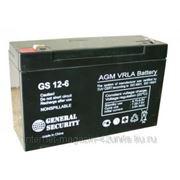 Аккумуляторная батарея GS 6В 12 А*ч фото