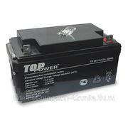 Аккумуляторная батарея Top Power TP 65-12, 12В, 65 А*ч фото
