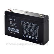 Аккумуляторная батарея GS 6В 7 А*ч фото
