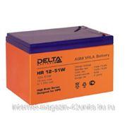 Аккумуляторная батарея HR 12-51W, 12В, 12 Ач фото