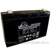 Аккумуляторные батареи LEOCH серии DJW 6В 7,0 А*ч фото