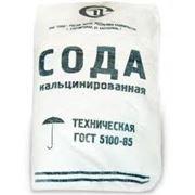 Сода кальцинированная марка Б в мешкотаре фото