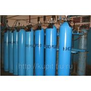 Баллоны кислородные ГОСТ 949-73 объемом 5л, 10л, 20л и 40 л. Баллон для кислорода 150кгс/см2 и 200 кгс/см2 фото