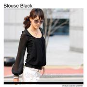 Блузка-Черный фото