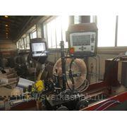 Установка для сварки продольных швов штампосварных тройников под флюсом фото