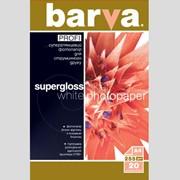 Фотобумага BARVA PROFI Белый Суперглянец фото