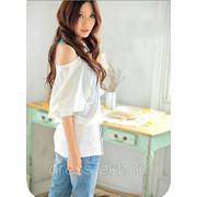Блузка-Белый фото