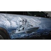 Рисунок на автомобиль фото