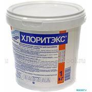 Хлоритэкс органический хлор - 60% в гранулах, ведро 1 кг фото