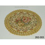 Салфетка декоративная диаметр=16 см. (728121) фото