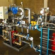 Автоматизированные тепловые узлы (тепловые пункты) фото