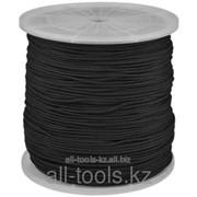 Шнур Зубр полиамидный, без сердечника, черный, d 5, катушка 700м Код:50321-05-700 фото