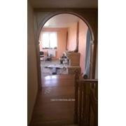 Деревянная дверная арка фото
