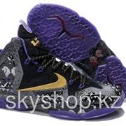 Кроссовки Nike LeBron XI 11 Gold/Purple/Black/White 40-46 Код LBXI20 фото
