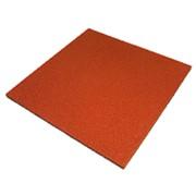 Плитка оранжевая 500x500х30 фото