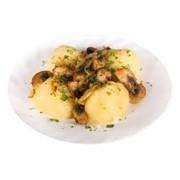 Доставка гарниров - Картофель с грибами фото