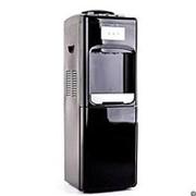 Напольный кулер с холодильником LESOTO 333 L-B black фото