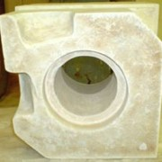 Горелочные блоки (камни) огнеупорные фото
