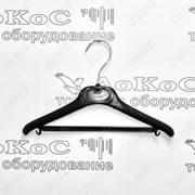 Вешалка с перекладиной и крючками, L=28см, B513B фото