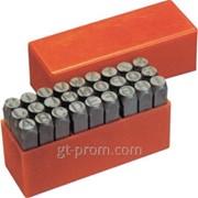 Набор клейм буквы 6 мм CrMo ATF-5115A-6.0 фото