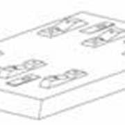 Плита безбалластного мостового полотна из сталефибробетона П2-200