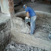 Демонтаж железо-бетонных конструкций фото