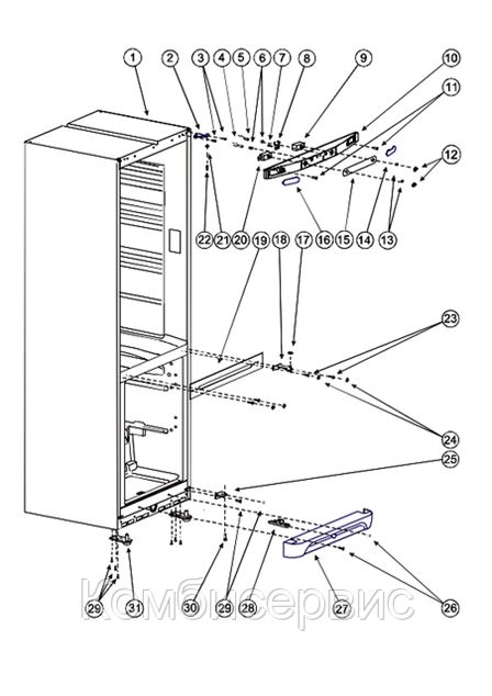 Ремонт холодильника фотография