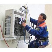 Техническое обслуживание кондиционера заправка+мойка (07,09,12) фото