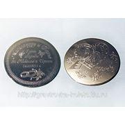 Гравировка свадебных медалей фото