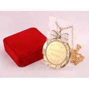 """Медаль """"золотая теща"""" диаметр=7 см, 1974042 (663755) фото"""