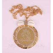 Медаль принцесса диаметр=7 см (650154) фото