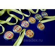 А401 Медали свадебные (8 шт.) фото
