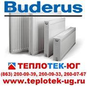 Стальные панельные радиаторы Buderus/ Будерус (Германия) фото