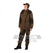 Костюм демисезонный Трофей, куртка, брюки, кепка, тк. Канада, цв. коричневый фото