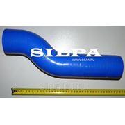 Патрубок радиатора нижний 5432А5-1303260-01 (d-70мм) S-образный силикон фото