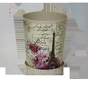 Горшок для цветов из пластика Париж фото