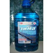Жидкость для стеклоомывателя Зима фото