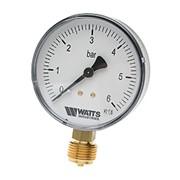 """Манометр радиальный Watts F+R200 нр 1/4""""х 16 бар фото"""