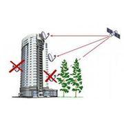 Тестирование спутникового сигнала в месте установки антенны фото