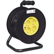 IEK WKP10-16-04-30 Удлинитель катушка 30м ПВС 3х1,5 16А (3500Вт) 4 розетки IP20 фото
