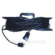 Удлинитель шнур - 5 метров,ПВС 2х0,75, 1 розетка фото