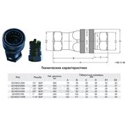 БРС серии QCHD для гидромолотов и сваебоев ISO 7241-A фото