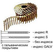 Гвозди 25х64MM-R/GALV для R-65, R-70A, R-89 9000шт. 2,5х64mm Артикул:31392 фото
