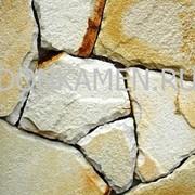 Песчаник белый, h - 1,5-3 см фото