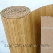 Бамбуковые обои КОФЕ 17 мм 100 см фото